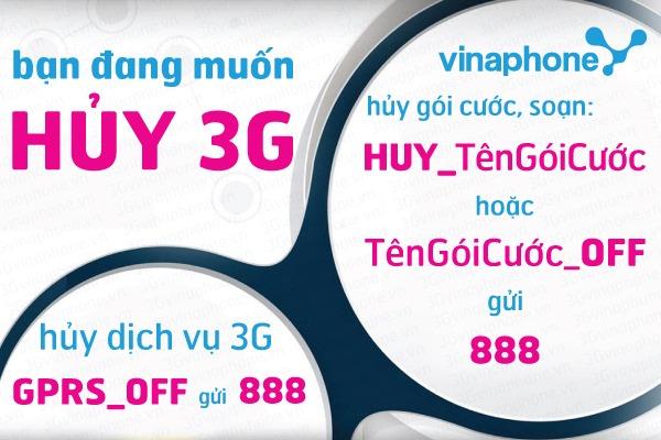 huong-dan-cach-huy-goi-cuoc-3G- Vinaphone