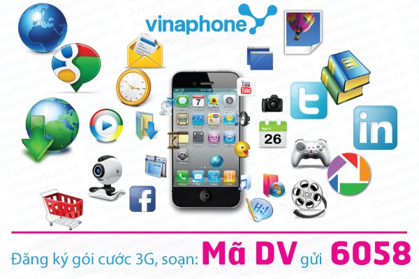 goi cuoc 3G Vinaphone