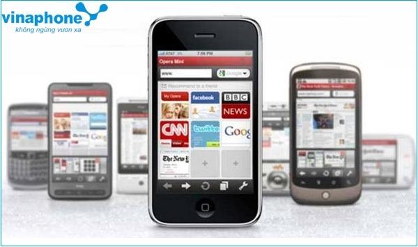Giảm cước 3G với gói Opera Mini của Vinaphone