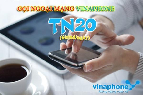Gọi liên mạng rẻ nhất với gói TN20 Vinaphone