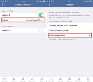 Hướng dẫn cách tắt tự động phát video trên Facebook