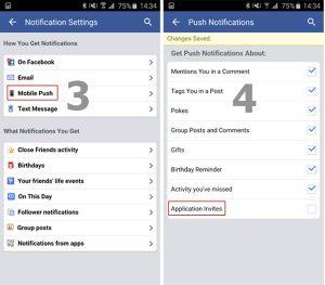 Cách chặn lời mời chơi game Facebook trên di động_4