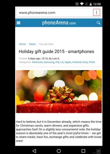 5 bước lưu trang web để xem offline trên Android-1