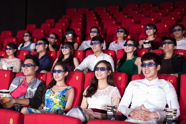 Giảm 20% giá xem phim 2D