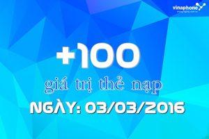 khuyến mãi Vinaphone 100