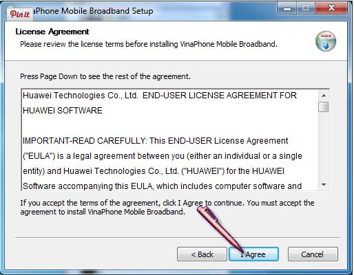 Hướng dẫn cài đặt USB 3G Vinaphone cho máy tính 1