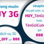 cach-huy-goi-cuoc-3G- Vinaphone