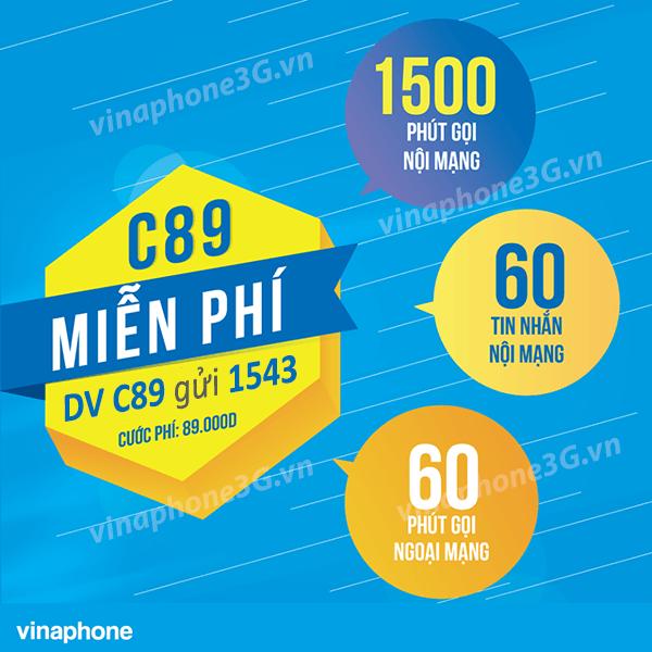 Hướng dẫn đăng ký gói cước C89 của Vinaphone