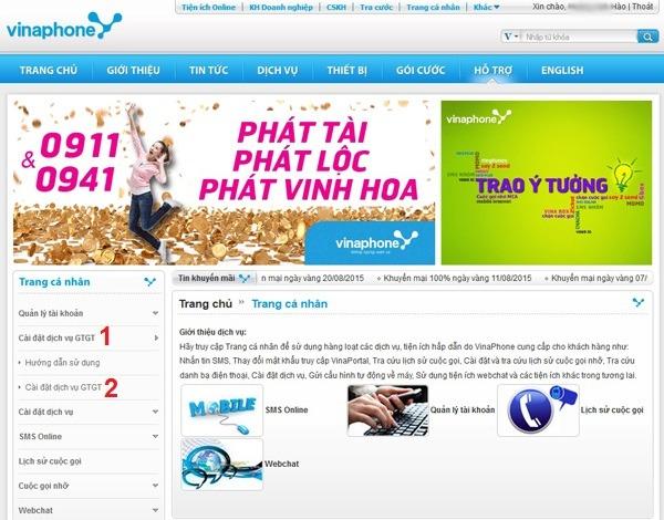 Hướng dẫn cách kiểm tra các dịch vụ Vinaphone đang sử dụng