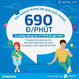 Gói cước VXTRA30 Vinaphone