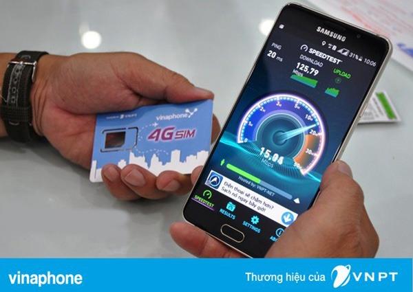 Cước phí đổi sim thường sang sim 4G Vinaphone