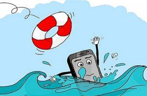 cấp cứu điện thoại bị vô nước