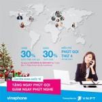 Vinaphone giảm 30% cước dịch vụ chuyển vùng quốc tế