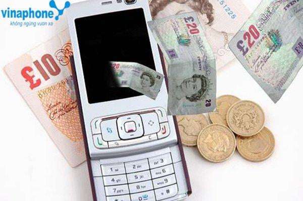 4 cách ứng tiền Vinaphone cho thuê bao di động