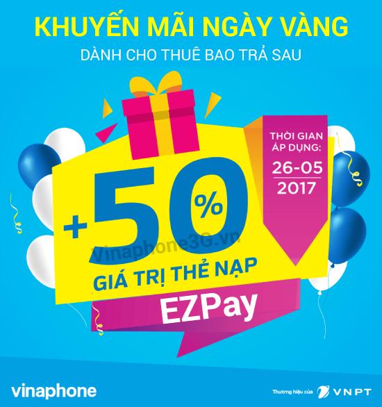 vinaphone-khuyen-mai-50-cho-thue-bao-ezpay-26-5-2017