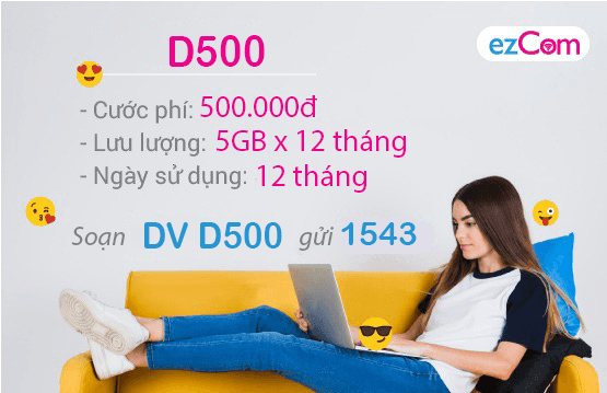 Thông tin chi tiết về gói cước D500 Vinaphone