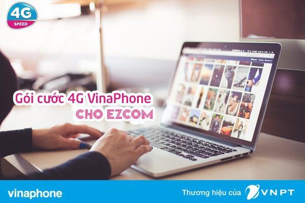 Các gói 4G ezCom Vinaphone