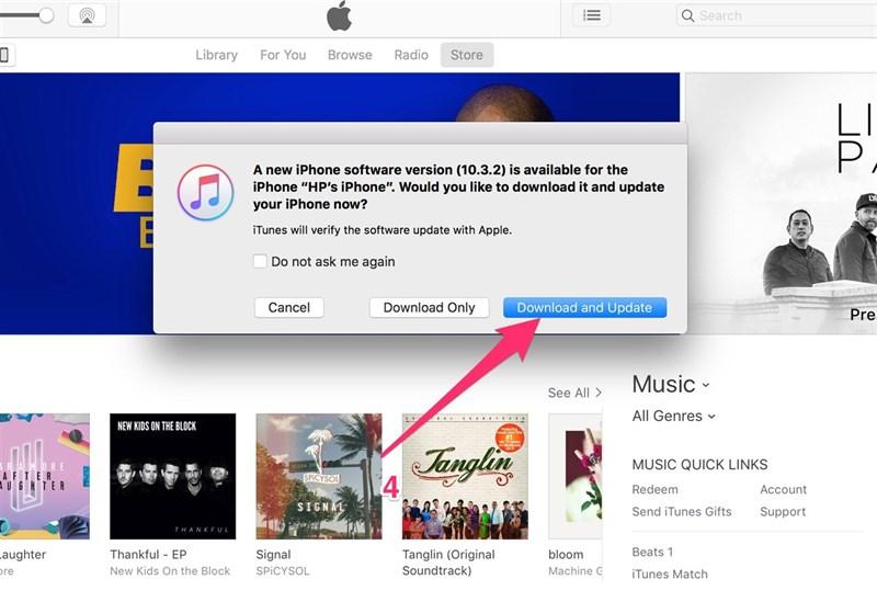 Cập nhật iOS 10.3.3