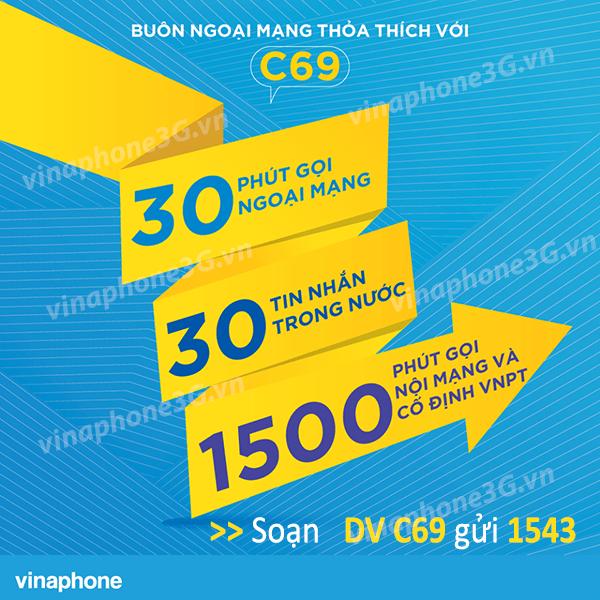 Hướng dẫn đăng ký gói cước C69 Vinaphone