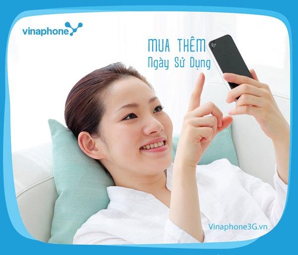 Mua thêm ngày sử dụng Vinaphone
