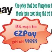 Khuyến mãi EZPAY Vinaphone 18/5/2018