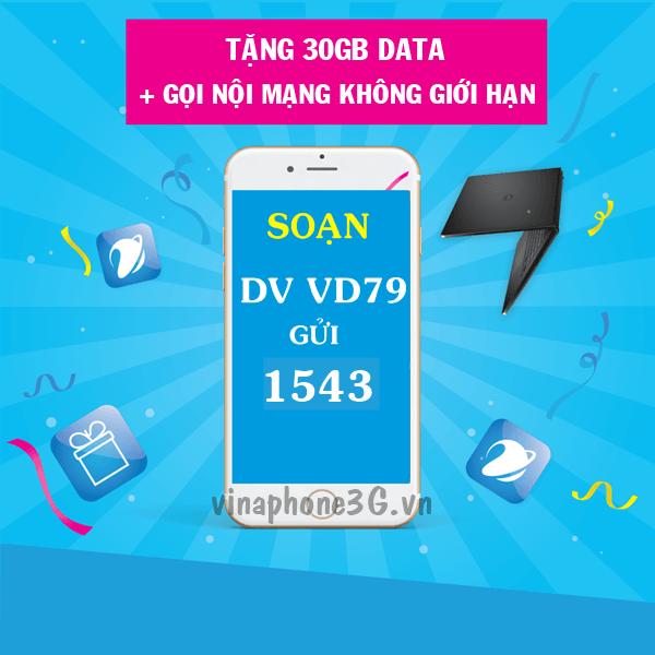 Thông tin chi tiết về gói cước khuyến mãi VD79 Vinaphone