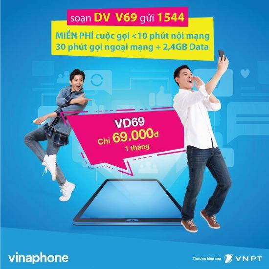 Gói VD69 Vinaphone