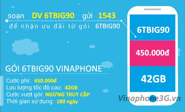Hướng dẫn đăng ký gói cước 6TBIG90 Vinaphone