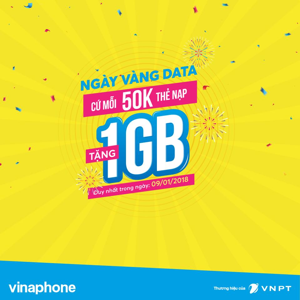 Nạp Thẻ tặng Data Vinaphone