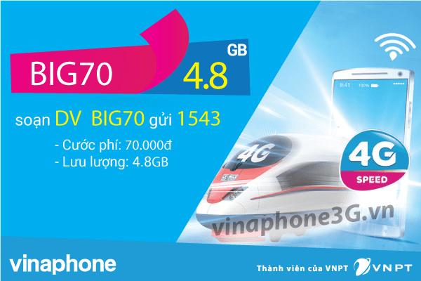 Thông tin chi tiết về gói cước BIG70 của Vinaphone