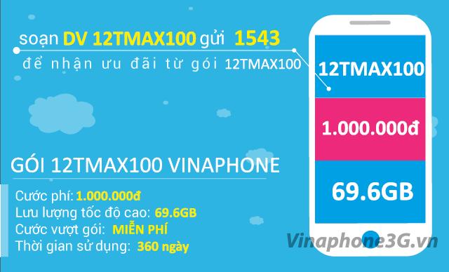 Thông tin chi tiết về gói cước 12TMAX90 của Vinaphone