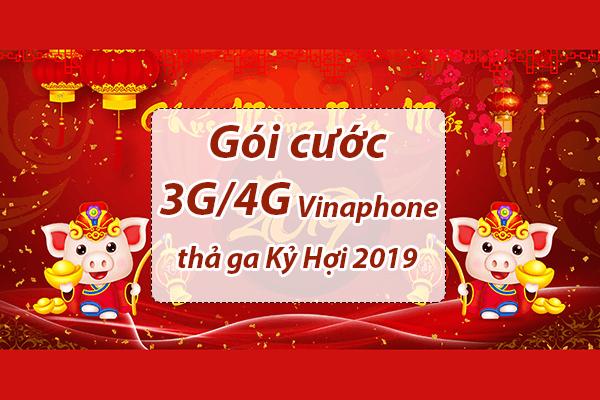 Gói cước 3G/4G Vinaphone nào nên đăng ký để sử dụng thả ga tết Kỷ Hợi