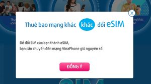 eSim Vinaphone là gì? Làm thế nào để đổi eSim của Vinaphone