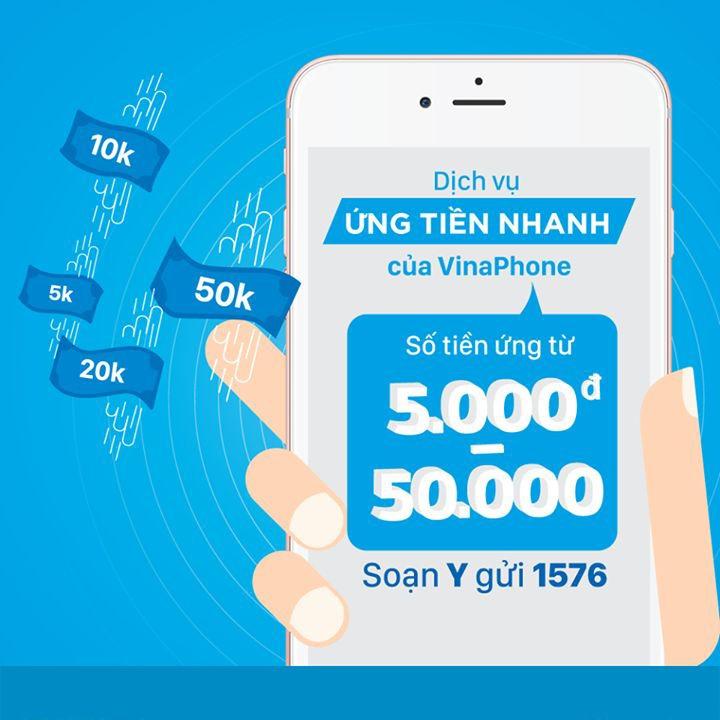Hướng dẫn sử dụng dịch vụ ứng tiền của Vinaphone