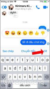 Hướng dẫn cách thu hồi tin nhắn trên Messenger