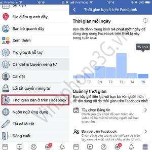 Làm thế nào để kiểm tra thời gian sử dụng Facebook mỗi ngày