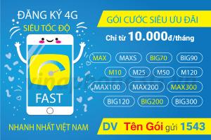 Hướng dẫn đăng ký 3G Vinaphone giá rẻ nhận DATA khủng