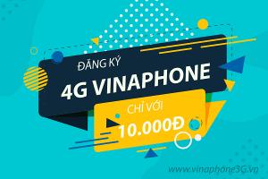 Tài khoản chỉ còn 10.000đ nên đăng ký gói cước 4G Vinaphone nào?