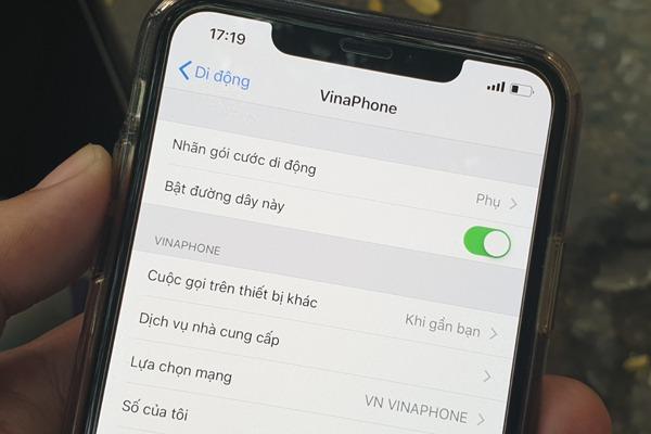 Một thuê bao sử dụng được bao nhiêu eSim Vinaphone