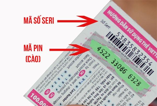 Làm thế nào để lấy lại mã thẻ cào Vinaphone bị mất số, mờ số bằng Seri thẻ?