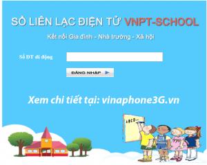 Hướng dẫn đăng ký dịch vụ sổ liên lạc điện tử VNPT School