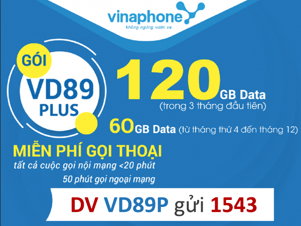 Hướng dẫn đăng ký gói cước VD89p Vinaphone