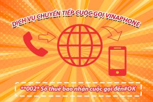 Hướng dẫn sử dụng dịch vụ chuyển tiếp cuộc gọi của Vinaphone