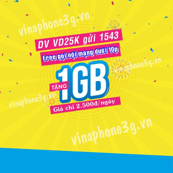 Hướng dẫn cách đăng ký gói cước VD25K mạng Vinaphone