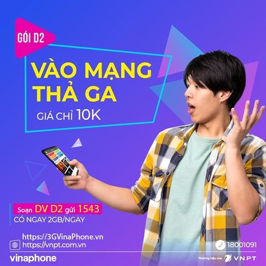 Cách đăng ký 4G Vinaphone 1 ngày giá rẻ dùng 24h: