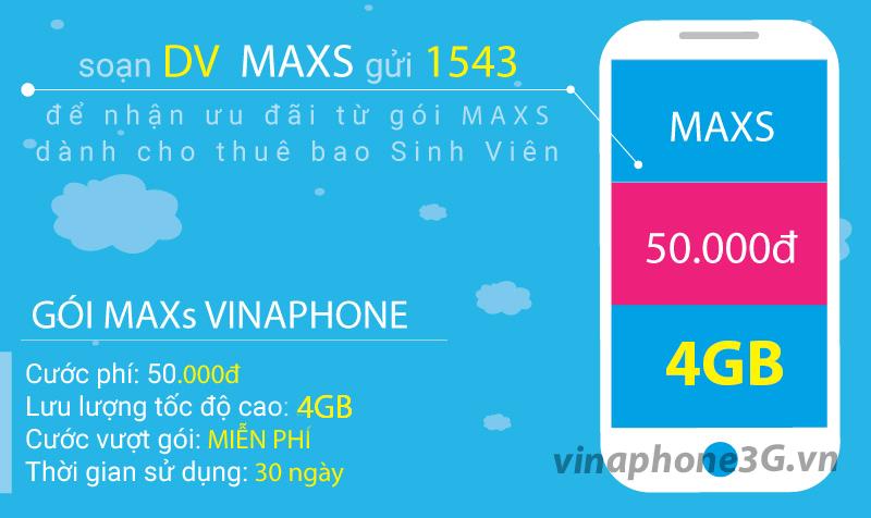 Đăng ký 3G 4G Vinaphone cho thuê bao học sinh sinh viên