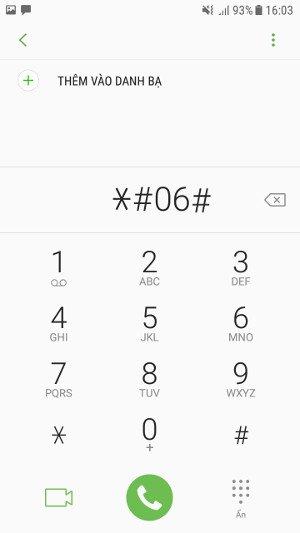 Hướng dẫn kiểm tra imei Samsung, check thời gian bảo hành Samsung