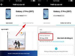 Cách kiểm tra imei Samsung, check thời gian bảo hành Samsung nhanh chóng tại nhà