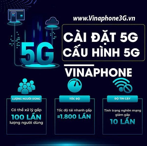 Hướng dẫn đăng ký gói cước 5G Vinaphone trọn gói không phí phát sinh