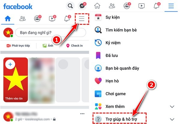 Hướng dẫn mở chặn like share trên Facebook